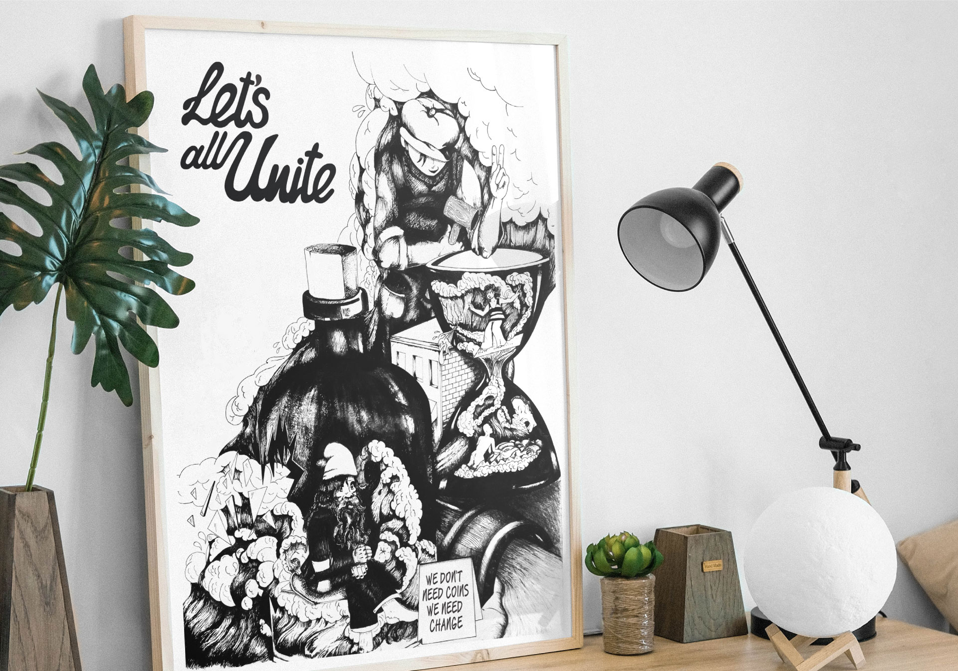 let's all unite poster