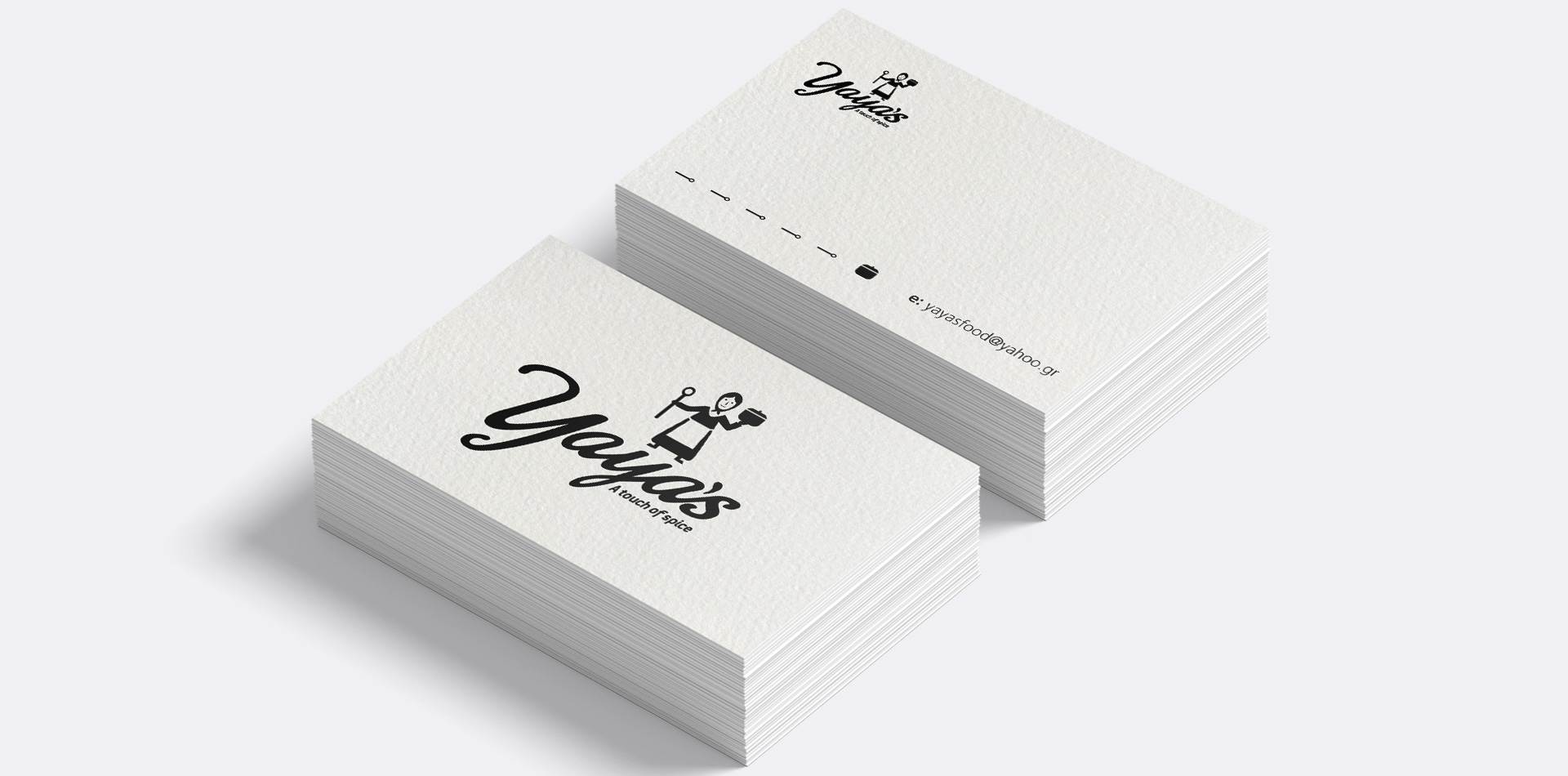 yaya's business cards
