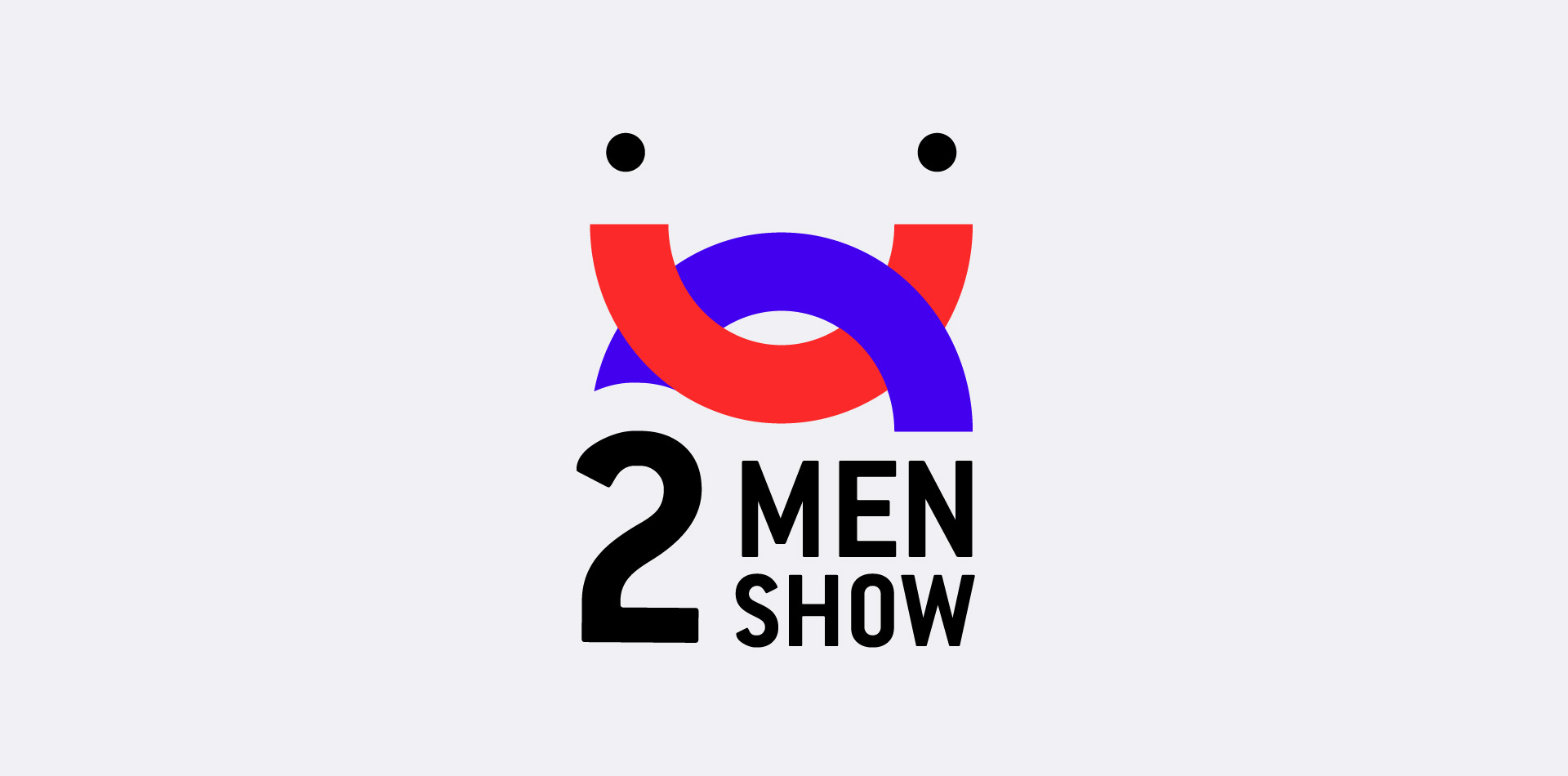 two men show logo